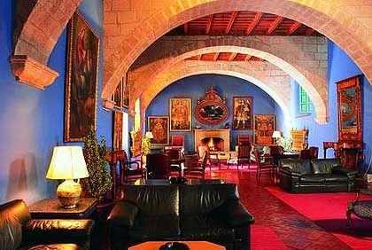 Lobby des Hotels Monasterio