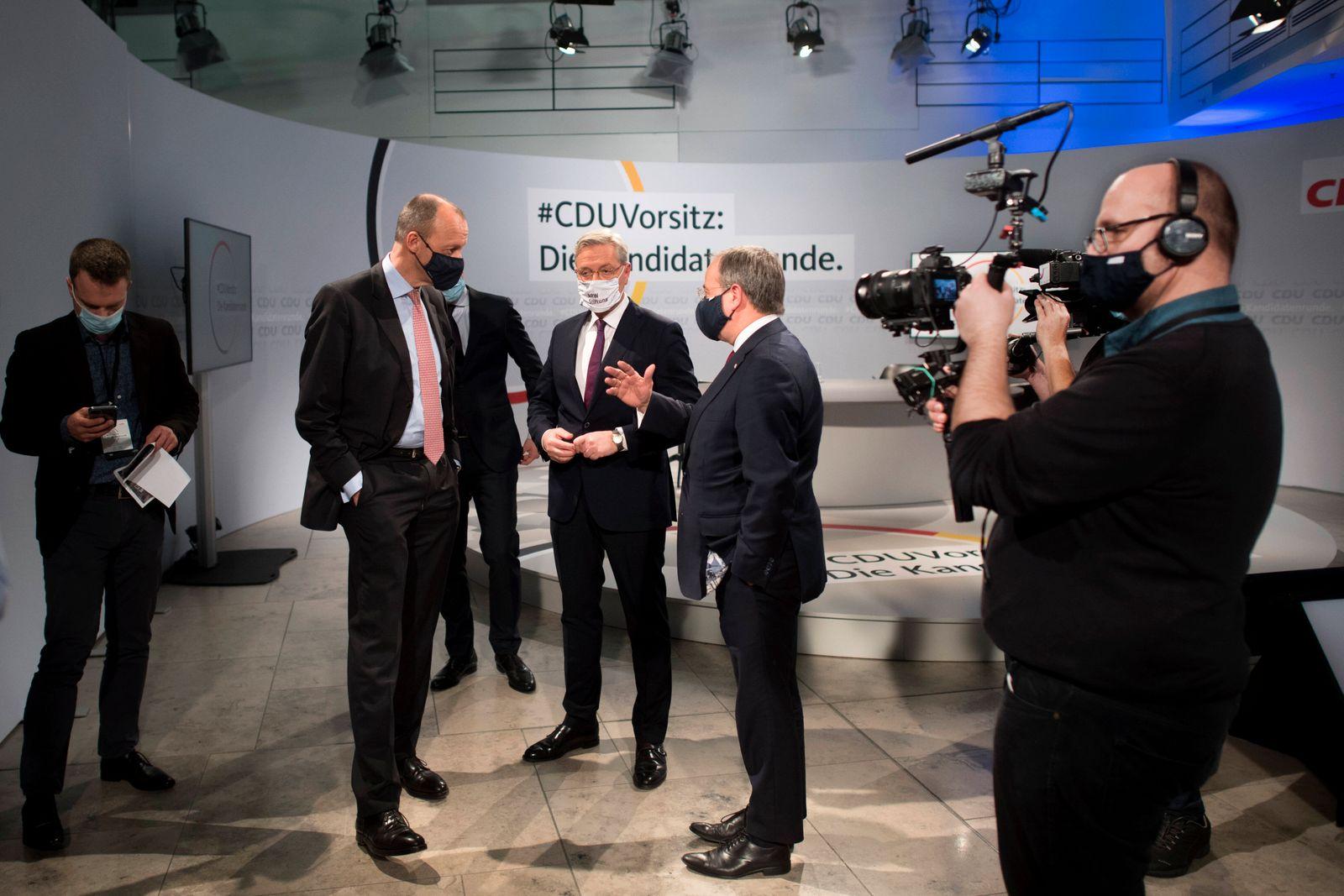 CDU Candidacy For CDU Leadership DEU, Deutschland, Germany, Berlin, 14.12.2020 Friedrich Merz, Kandidat als neuer Parte