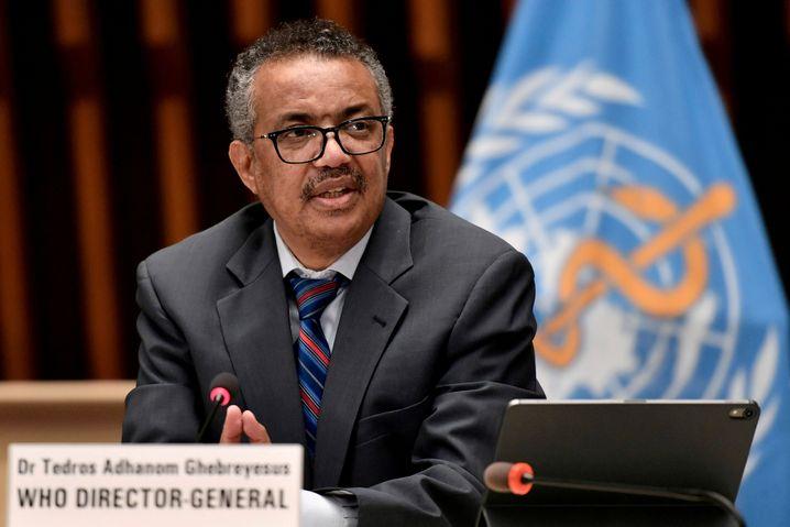 WHO-Direktor Tedros Adhanom Ghebreyesus wurde von Guerra als angeblicher Mitwisser benannt