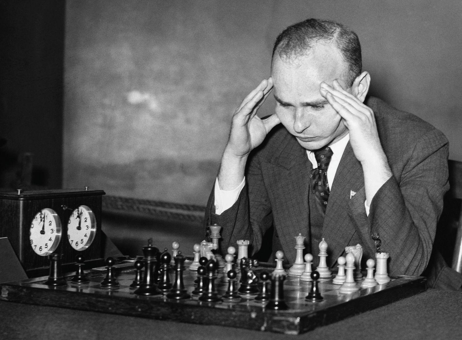 Chess Player Samuel Reshevsky