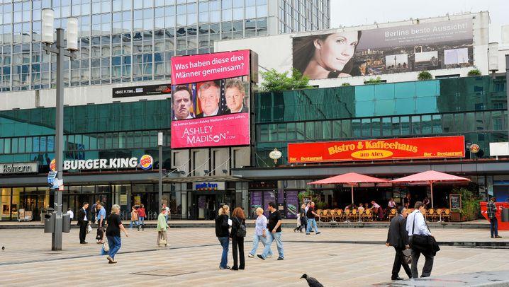 Werbebanner: Wenn schon fremdgehen, dann richtig