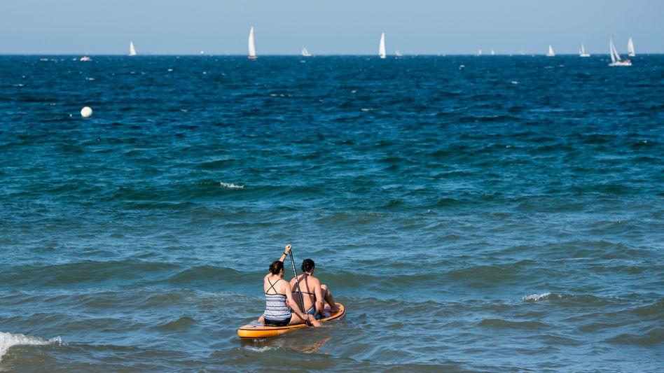 Paddeln auf der Ostsee: Wann wird wieder mehr gereist?