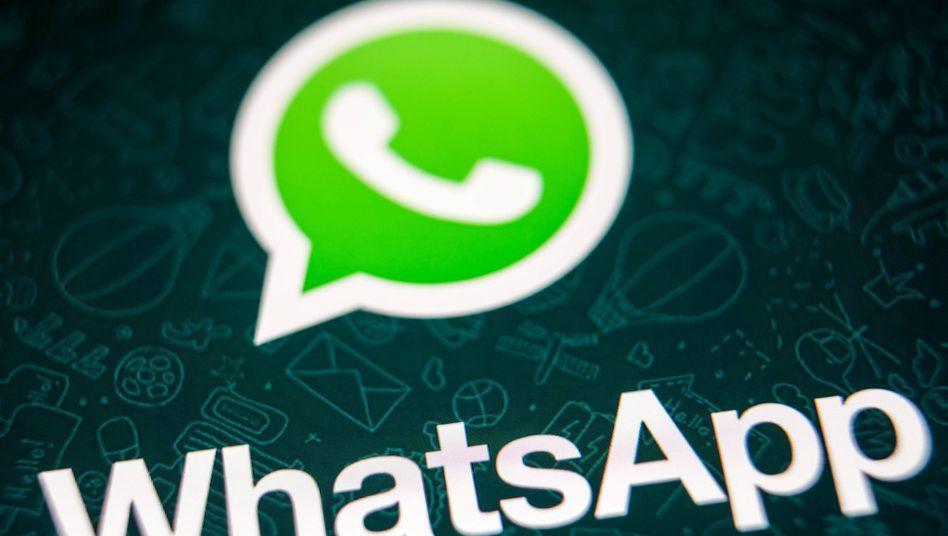 Symbol der WhatsApp-App auf einem Smartphone: Kaum ein Messenger ist so beliebt