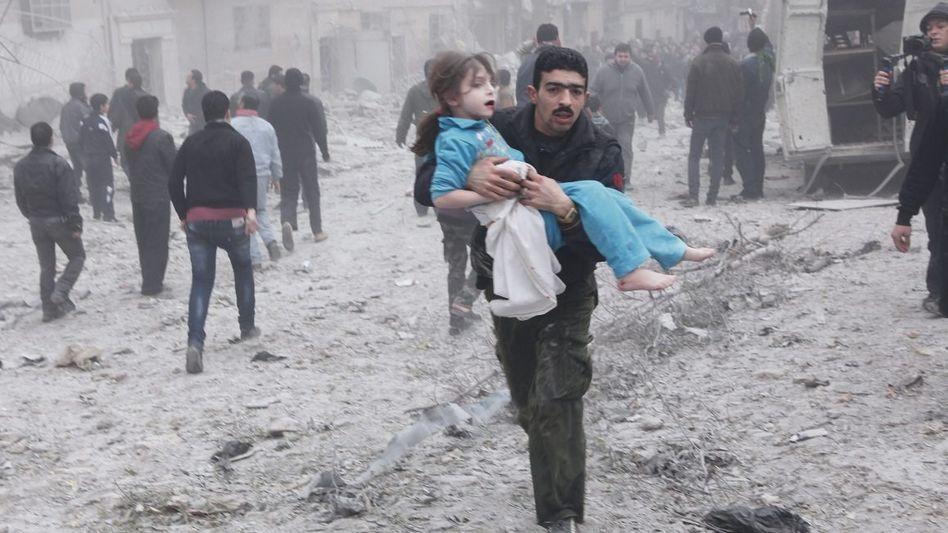 Aleppo nach Luftangriff: »Man kann nicht sagen: Die haben hundert Prozent Schuld und wir null«