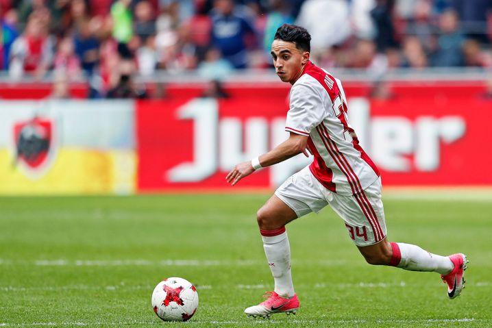Nouri Anfang Mai 2017 bei einem seiner neun Eredivisie-Spiele