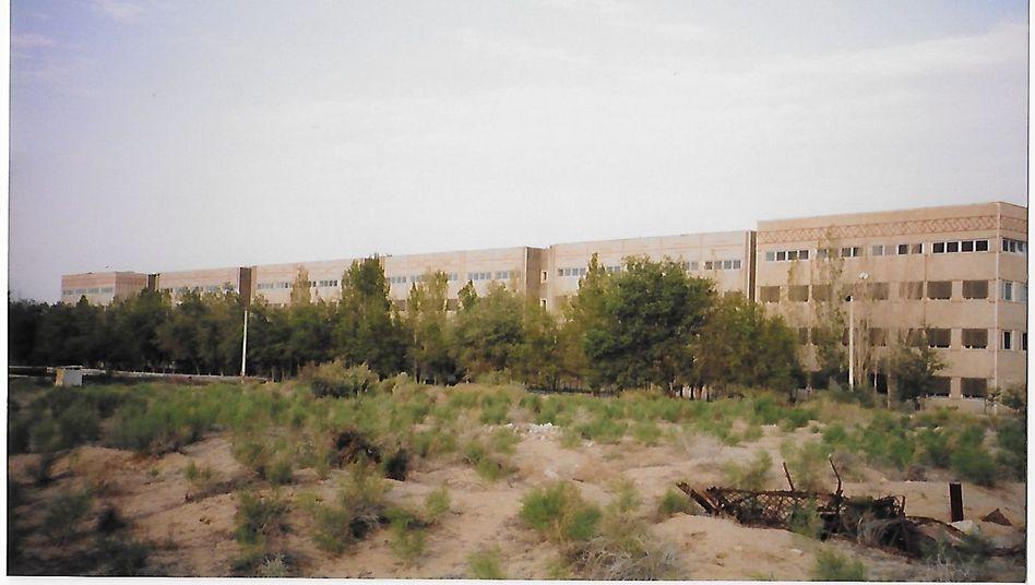 Produktionsanlage im usbekischen Nukus um 1997