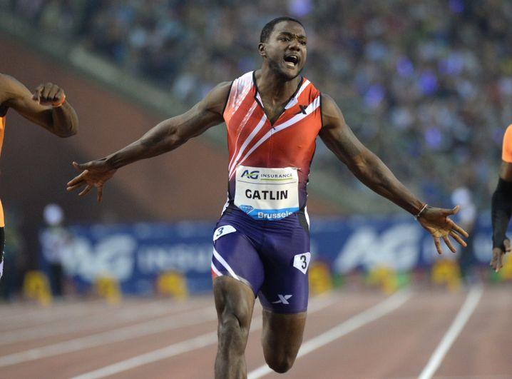 US-Sprinter Gatlin: Nach zwei Sperren noch schneller geworden