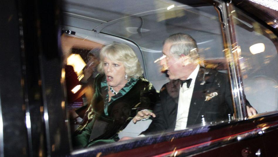 Englische Uni-Reform: Wütende Studenten attackieren Limousine von Prinz Charles