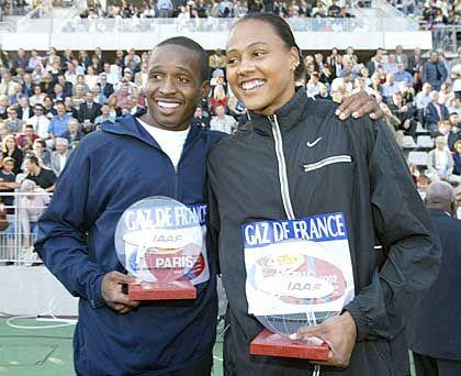 Das schnellste Paar der Welt: Marion Jones und Tim Montgomery