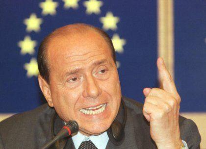 Eklat bei Berlusconis Debüt
