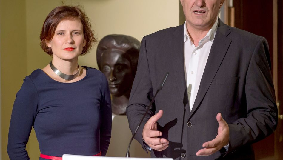 "Linken-Chefs Kipping, Riexinger: ""System ist gescheitert"""