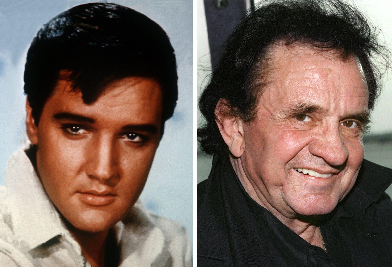 ACHTUNG SPERRFRIST 27. MÄRZ 01.01 UHRElvis Presley und Johnny Cash