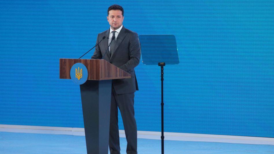 Wolodymyr Selenskyj: Zuletzt zeigte der ukrainische Präsident autoritäre Tendenzen