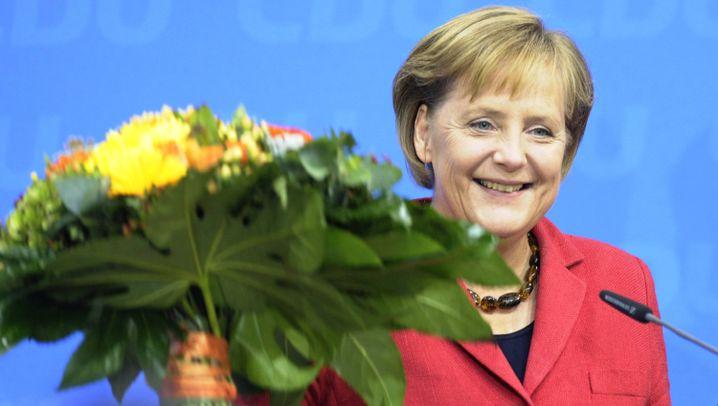 Photo Gallery: Victory for Angela Merkel
