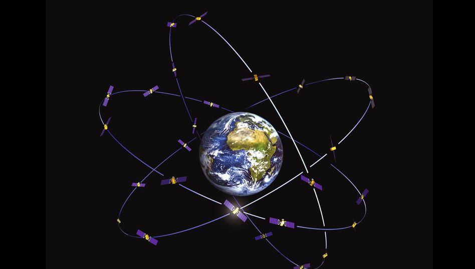 Satelliten im Orbit: Kommt bald das Hacker-Netz im All?