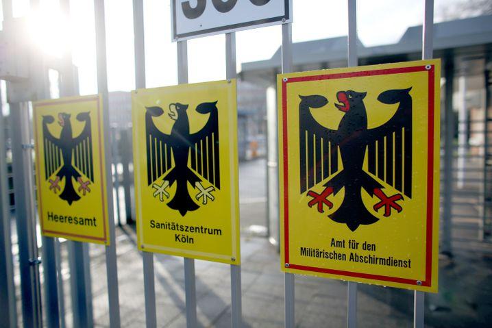 Militärischer Abschirmdienst (MAD) in Köln