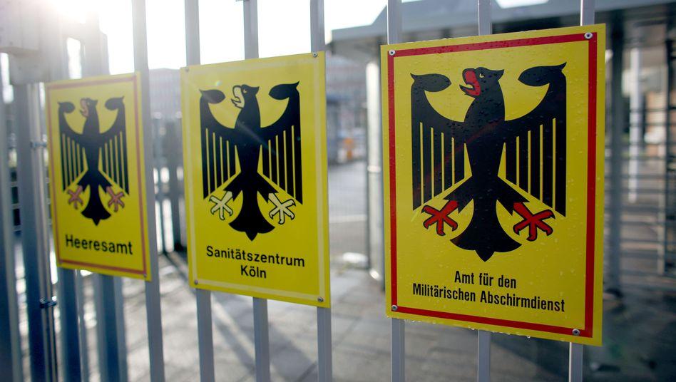 Militärischer Abschirmdienst (MAD) in Köln (Archivbild)