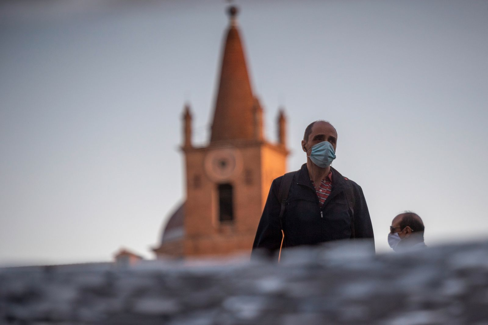 Daily Life In Rome Amid Covid-19 Pandemic
