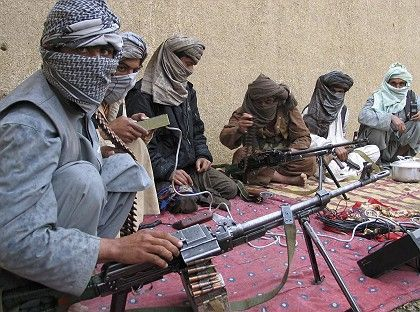 "Taliban fighters in Afghanistan: ""There is no way you can negotiate with these people."""