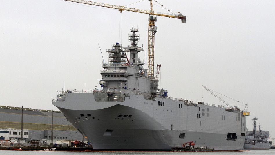 """Kriegsschiff """"Sebastopol"""" der """"Mistral""""-Klasse: Ägypten kauft zwei französische """"Mistral""""-Schiffe"""