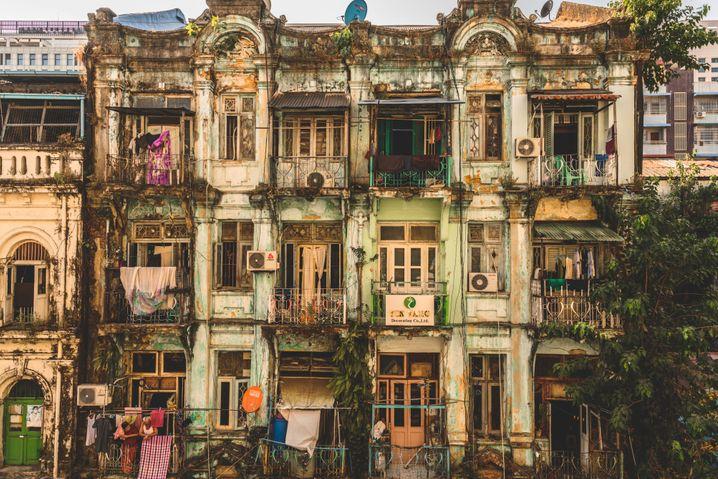 Maha Bandula Garden Street, Yangon, Myanmar
