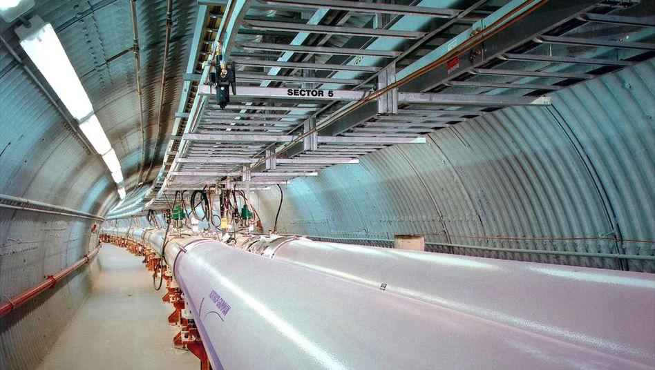 Relativistic Heavy Ion Collider: Kollision von Goldionen