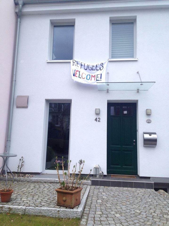 Banner in Blankenese