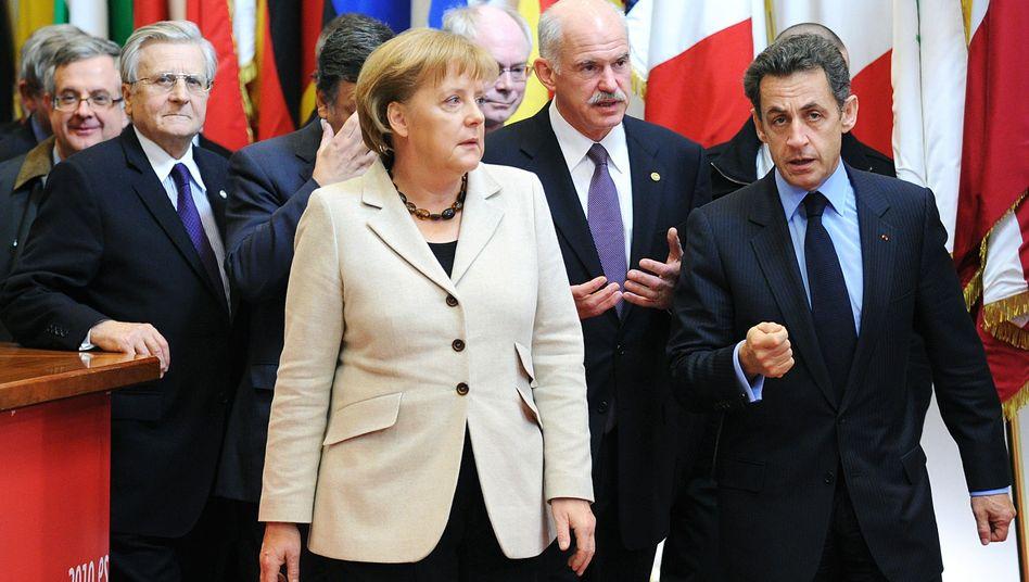 EU-Staats- und Regierungschefs (Archivbild von 2010): Getriebene der Finanzmärkte