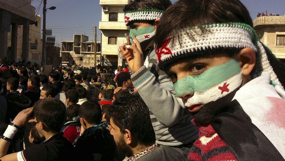 Anti-Assad-Demonstration in Syrien: Die Arabische Liga will Blauhelme für Syrien