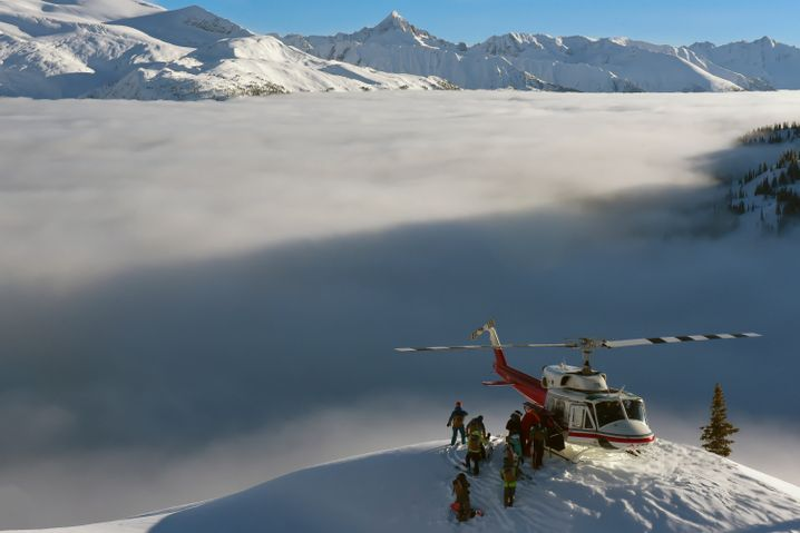 Heliskiing-Anbieter Canadian Mountain-Holidays