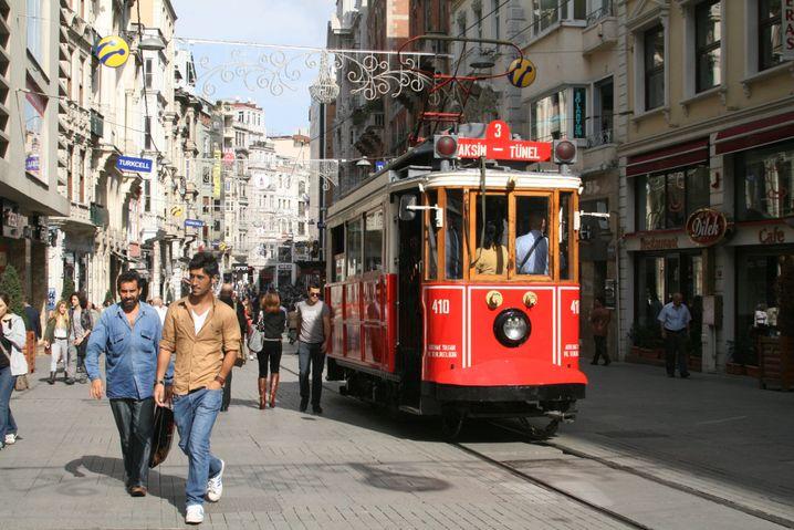Istanbul: Mokka im Mai