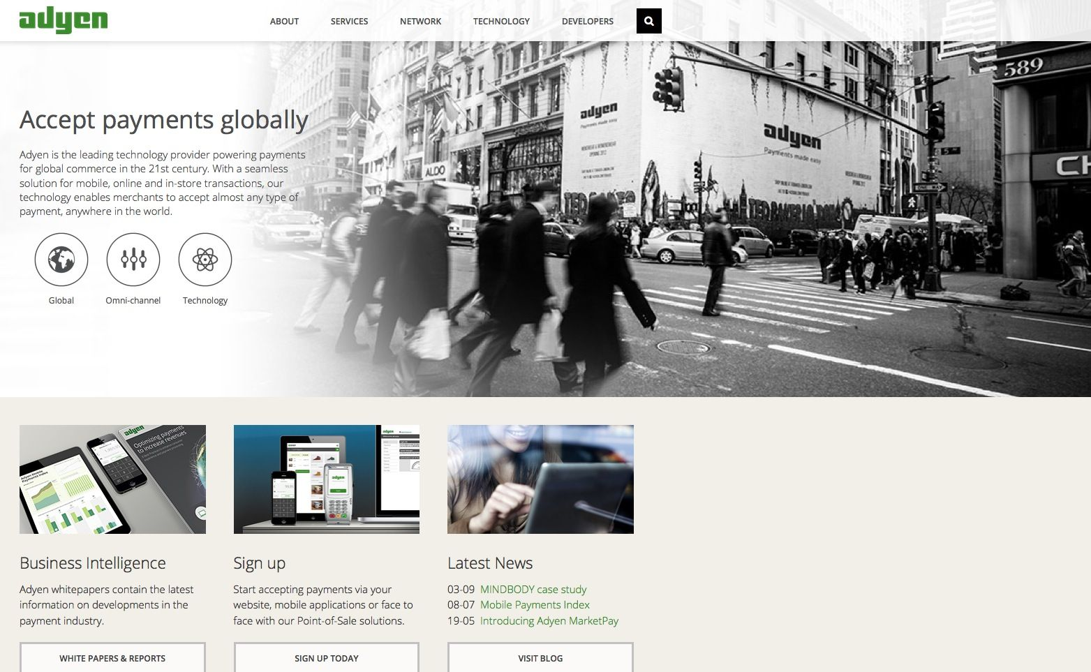 EINMALIGE VERWENDUNG adyen.com/screenshot
