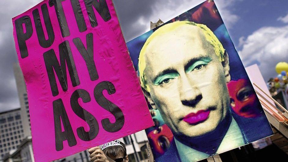 Demonstranten in Berlin: Kleine Gesten