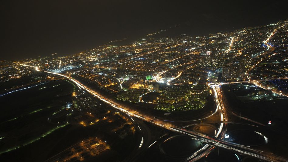 Iranische Hauptstadt Teheran