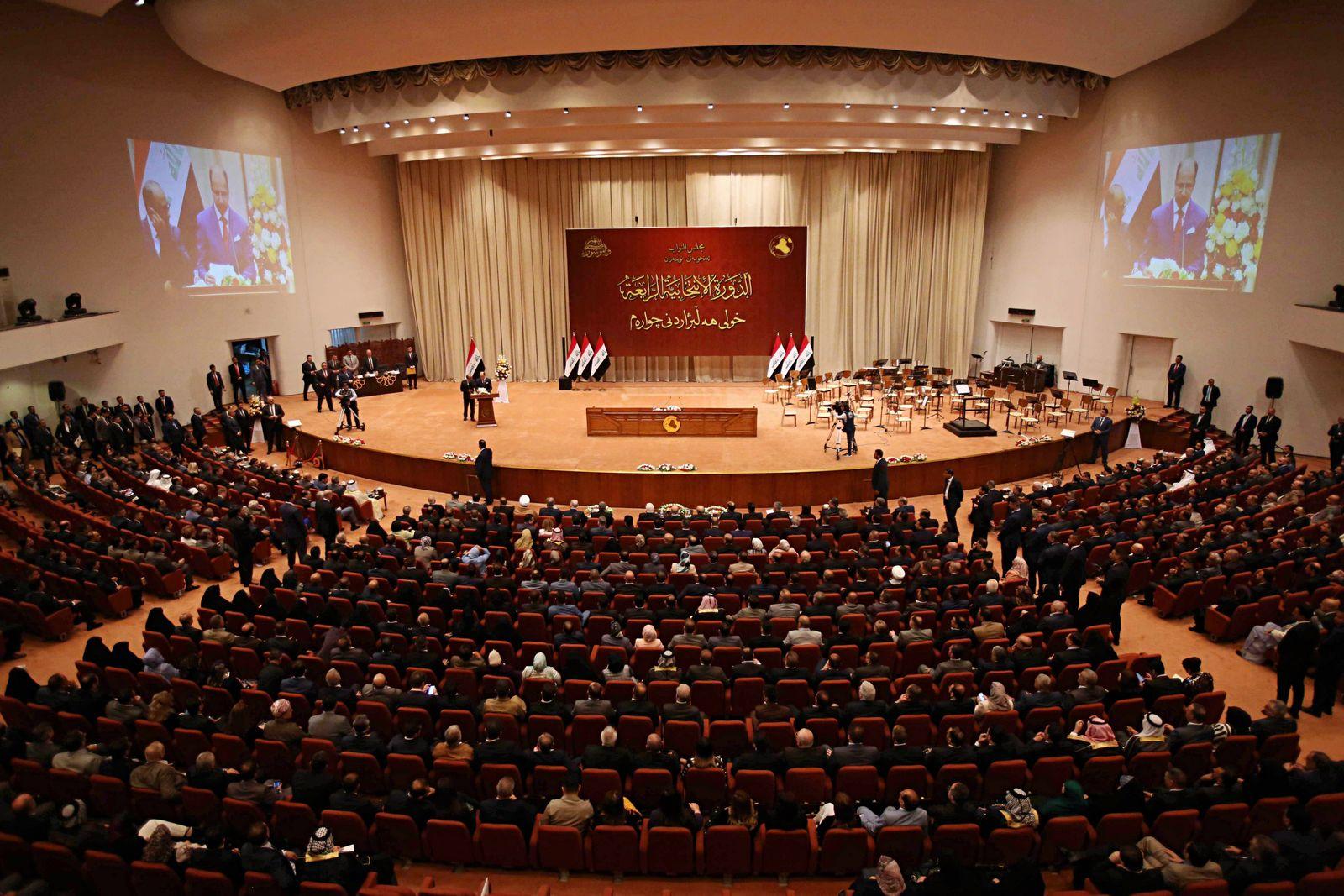 Irak/ Parlament