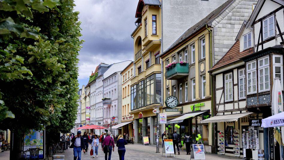 Einkaufsstraße in Schwerin: Vielerorts steigen die Mieten