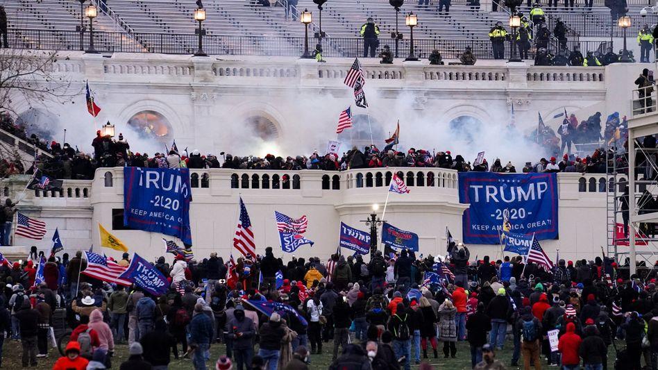 Angriff auf das US-Kapitol am 6. Januar 2021