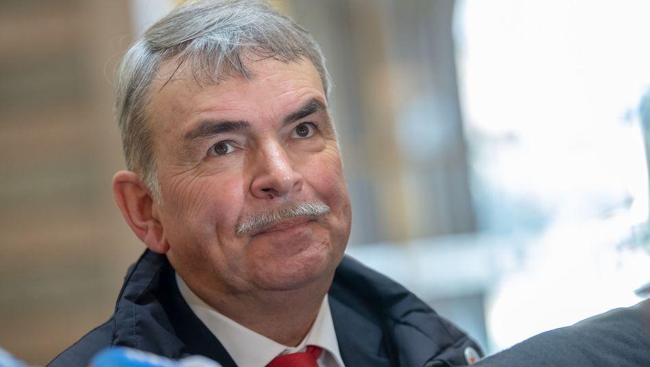 Gustl Mollath im Landgericht München