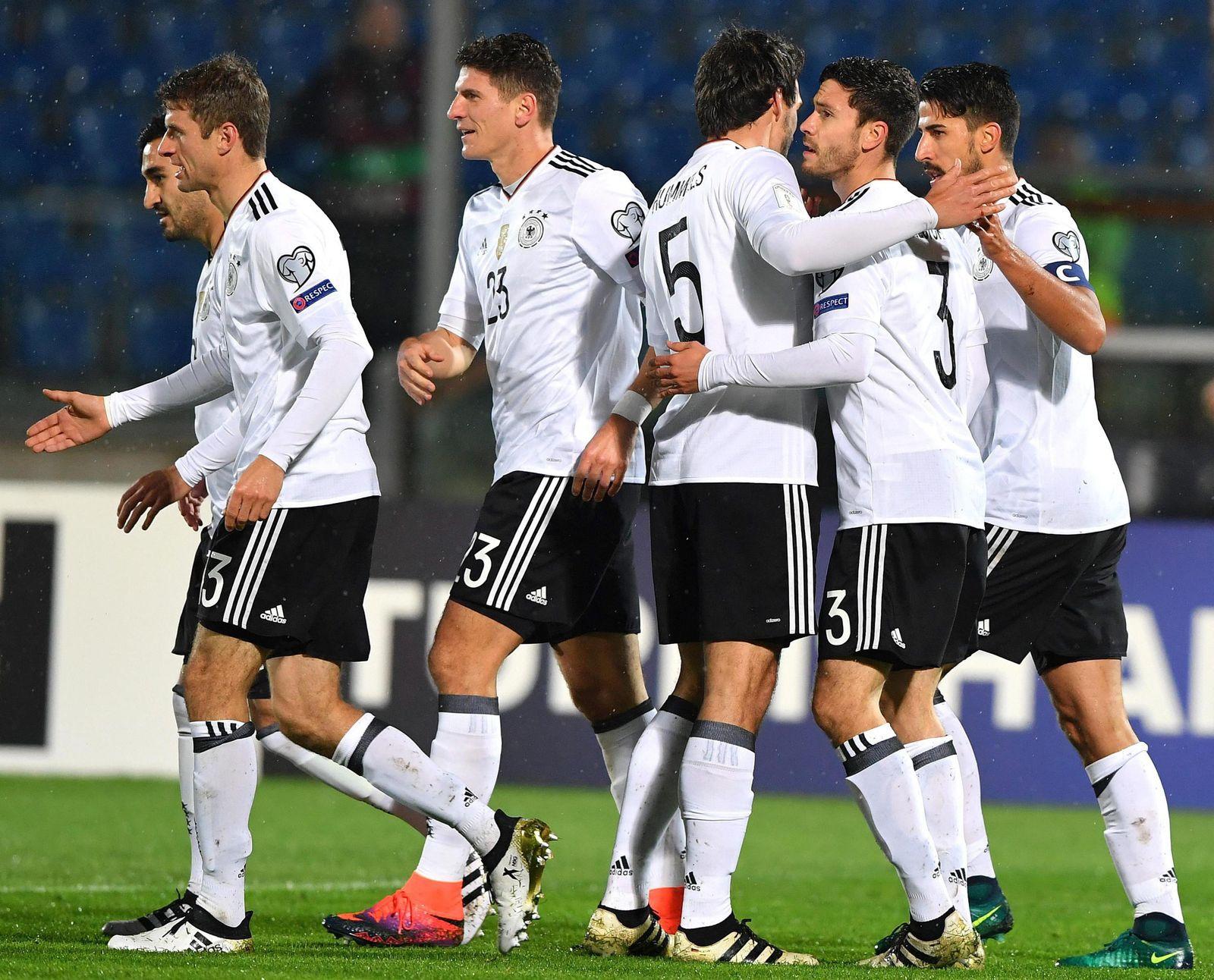 Deutschland San Marino Aufstellung