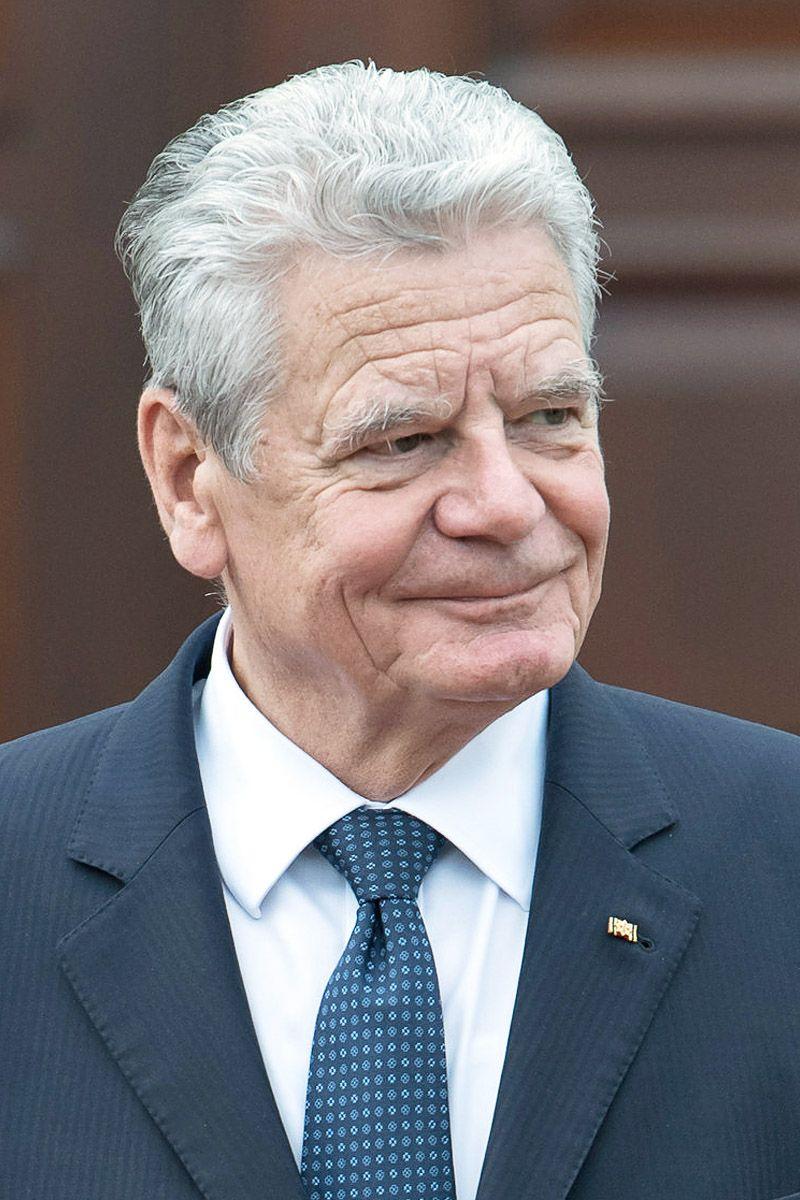 Deutscher Politiker des Jahres/ Joachim Gauck