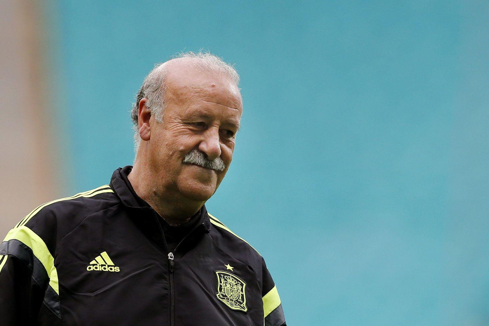 World Cup 2014 - Spain training