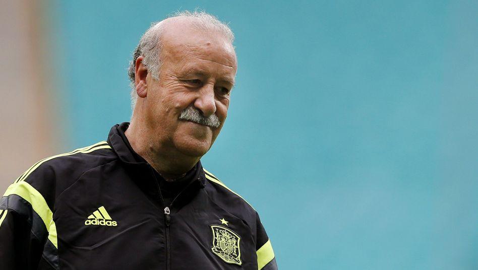 """Spaniens Nationaltrainer del Bosque: """"Sechs Jahre zählen mehr als zwei Spiele"""""""