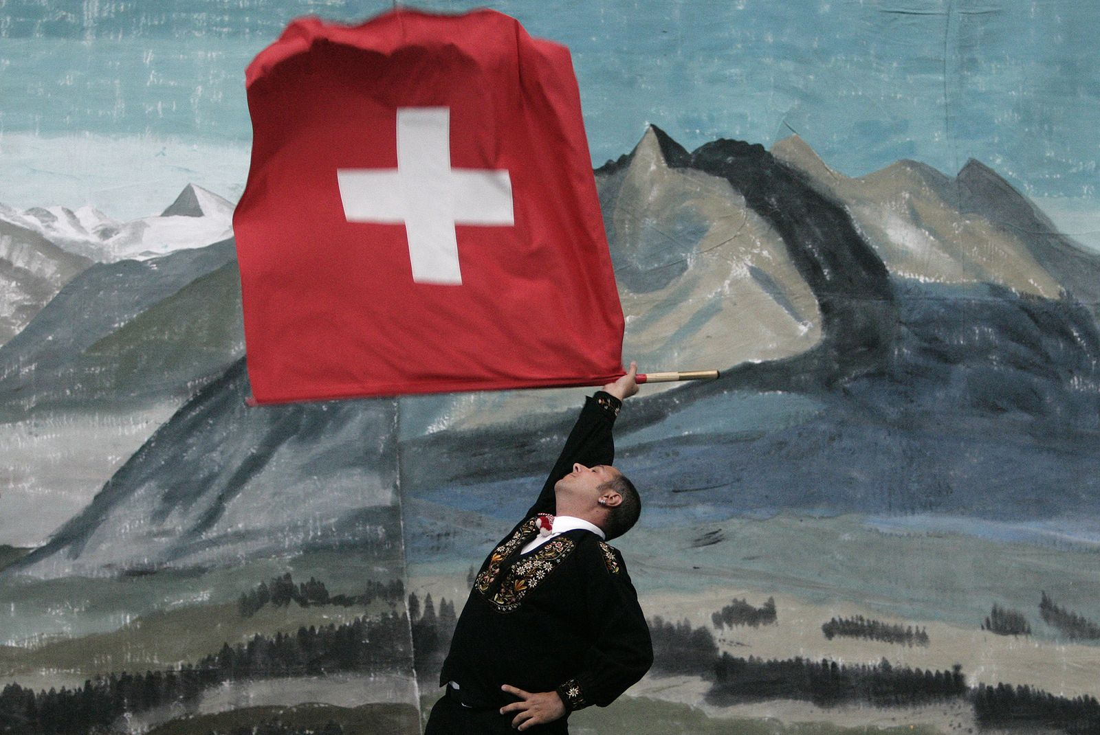 Schweiz / Flagge