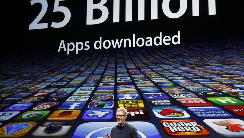 Apple-Chef Tim Cook: Der Konzern kämpft mit Schadsoftware auf Macs