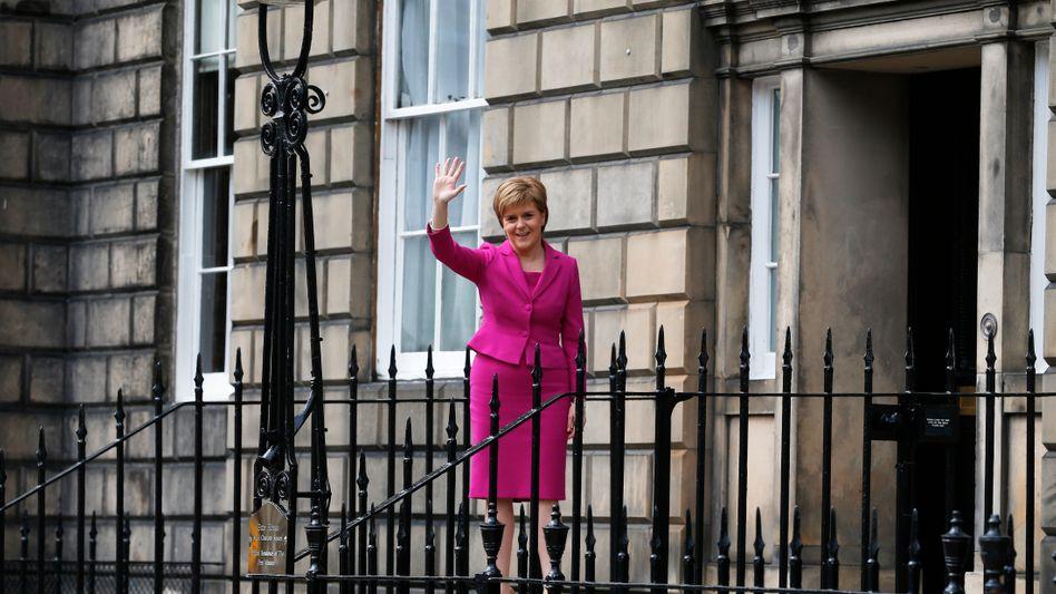 Schottlands Regierungschefin Nicola Sturgeon