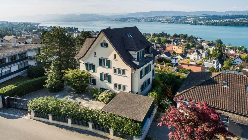 Villa von Udo Jürgens: Elfeinhalb Zimmer am Zürichsee