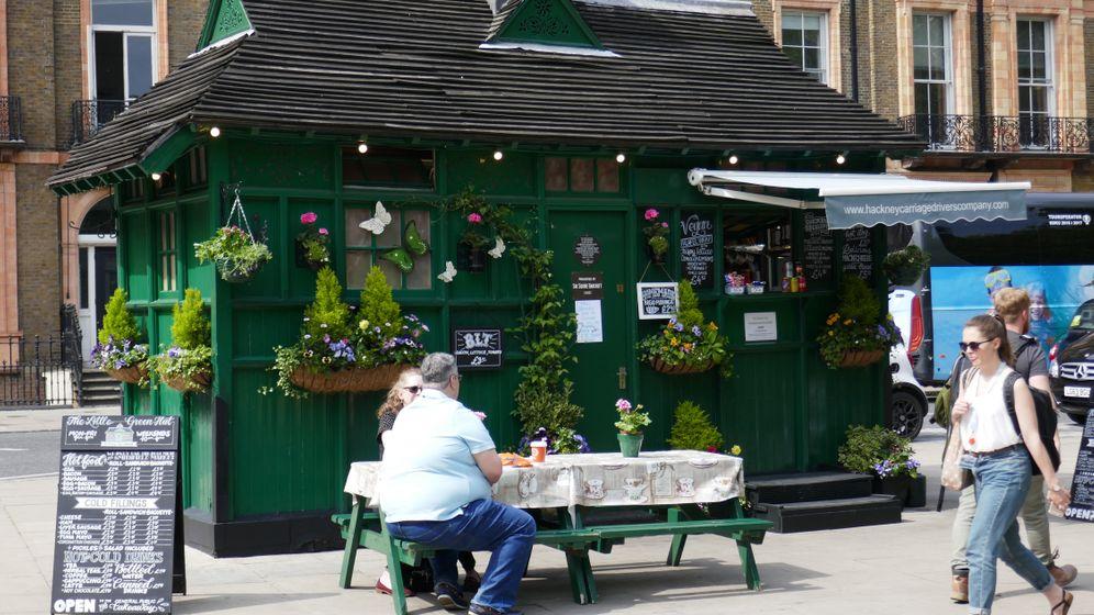 Cabmen's Shelters in London: Grün, klein, kultig