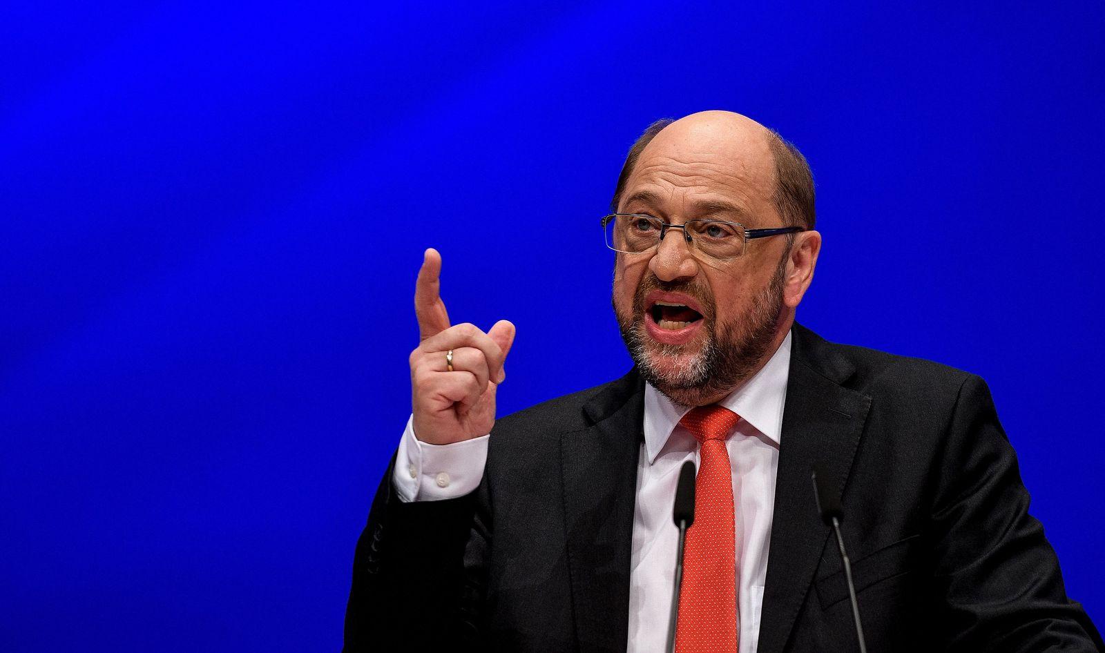 SPD/ Sonderparteitag/ Dortmund/ Martin Schulz