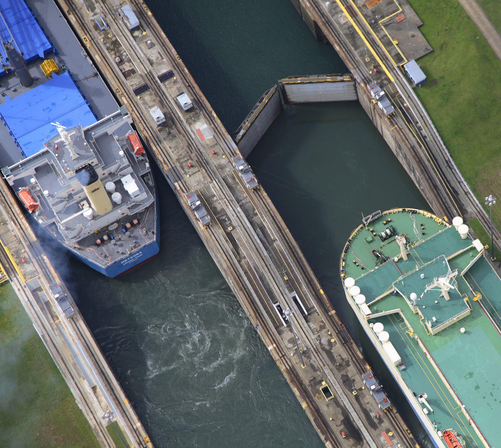EINMALIGE VERWENDUNG Panamakanal