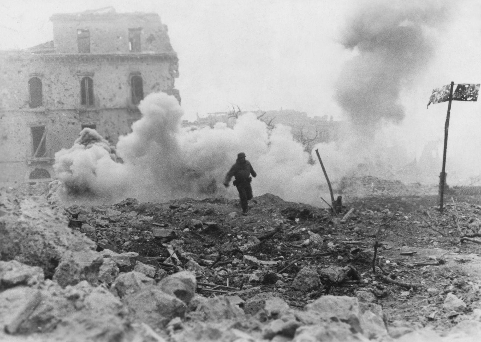 Kriegszitterer - II.WK - Monte Cassino